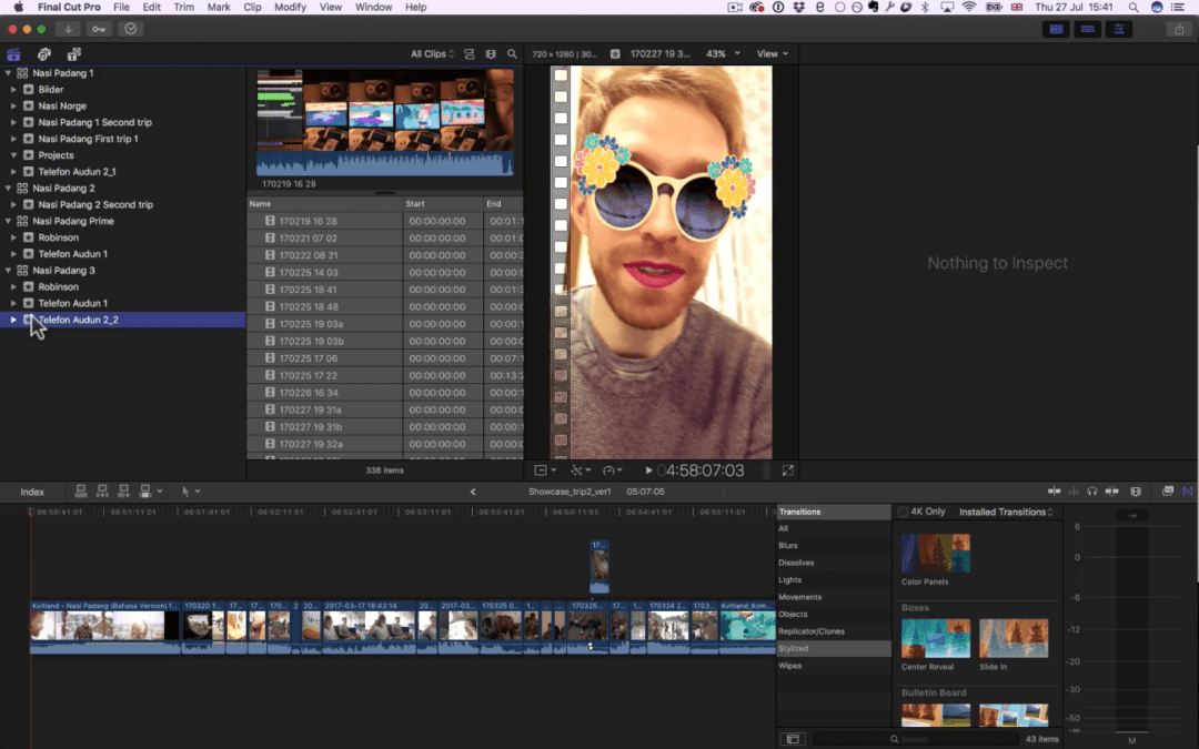 FCP X WORKFLOW WITH ALIASED PROXIES